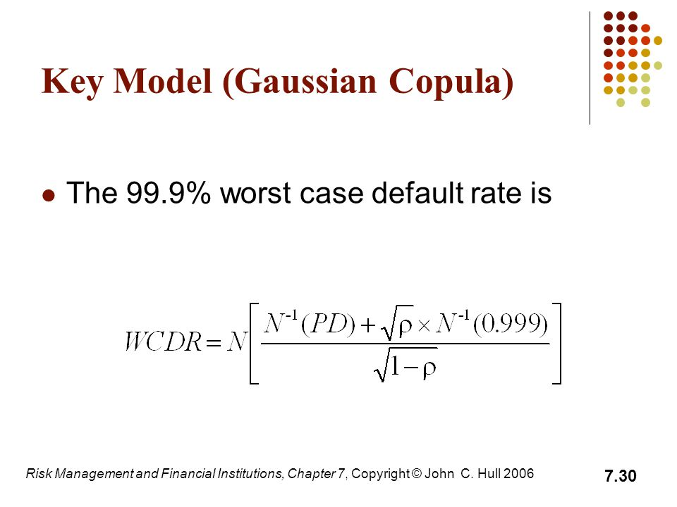 Key Model (Gaussian Copula)