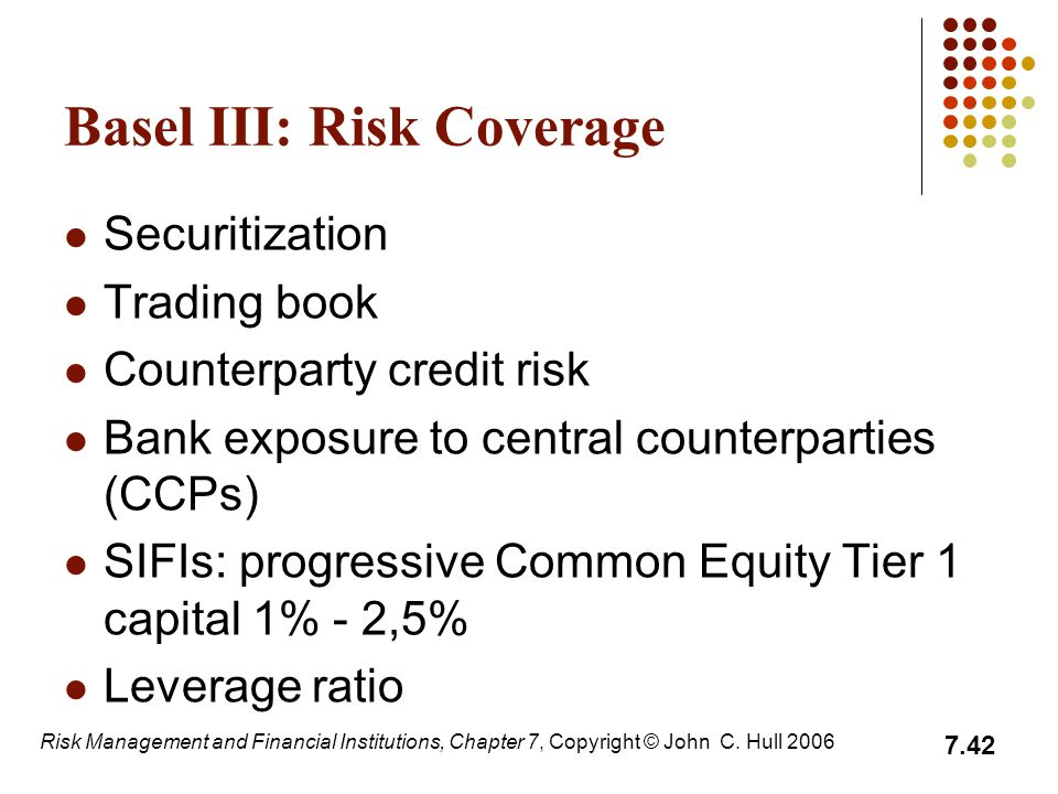Basel III: Risk Coverage