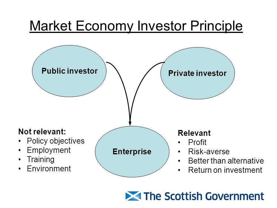 Market Economy Investor Principle Principle