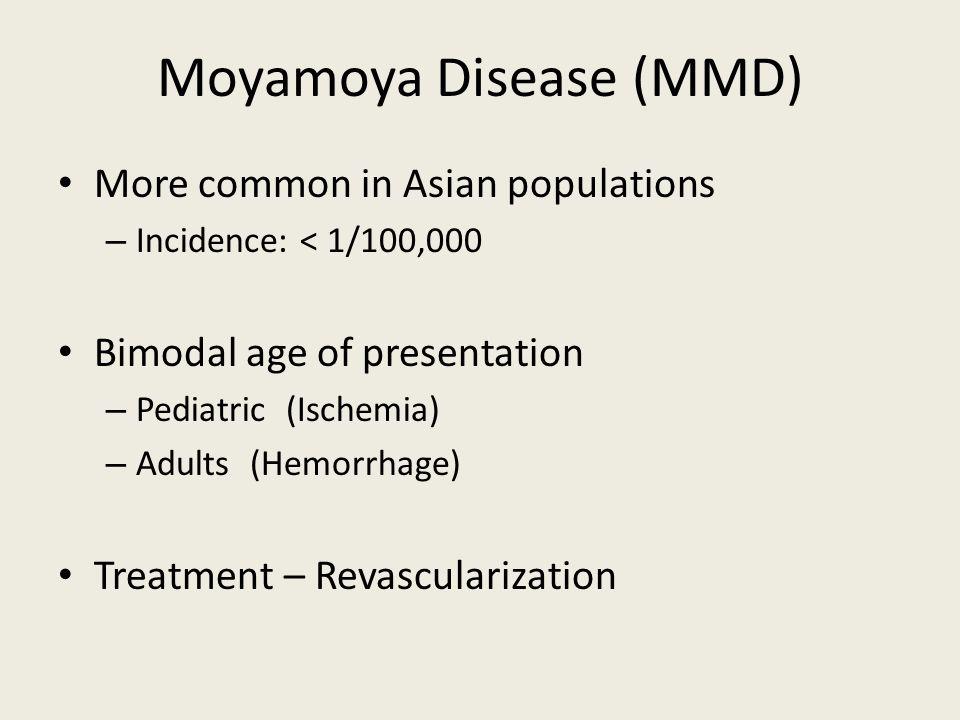 Moyamoya Disease (MMD)