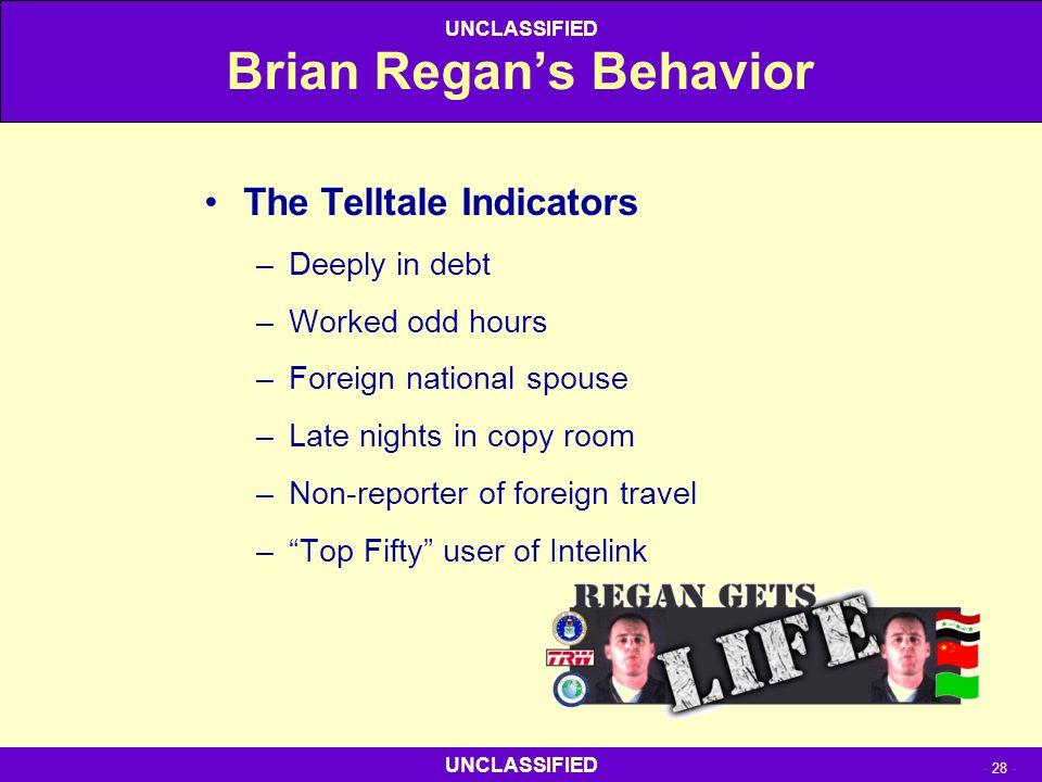 Brian Regan's Behavior