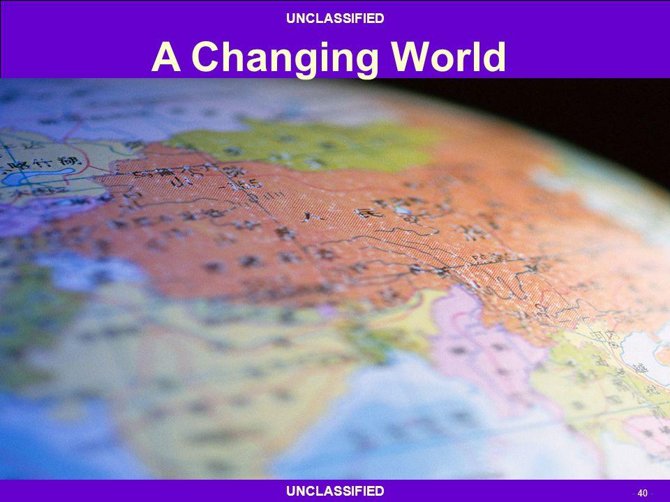 4/13/2017 A Changing World