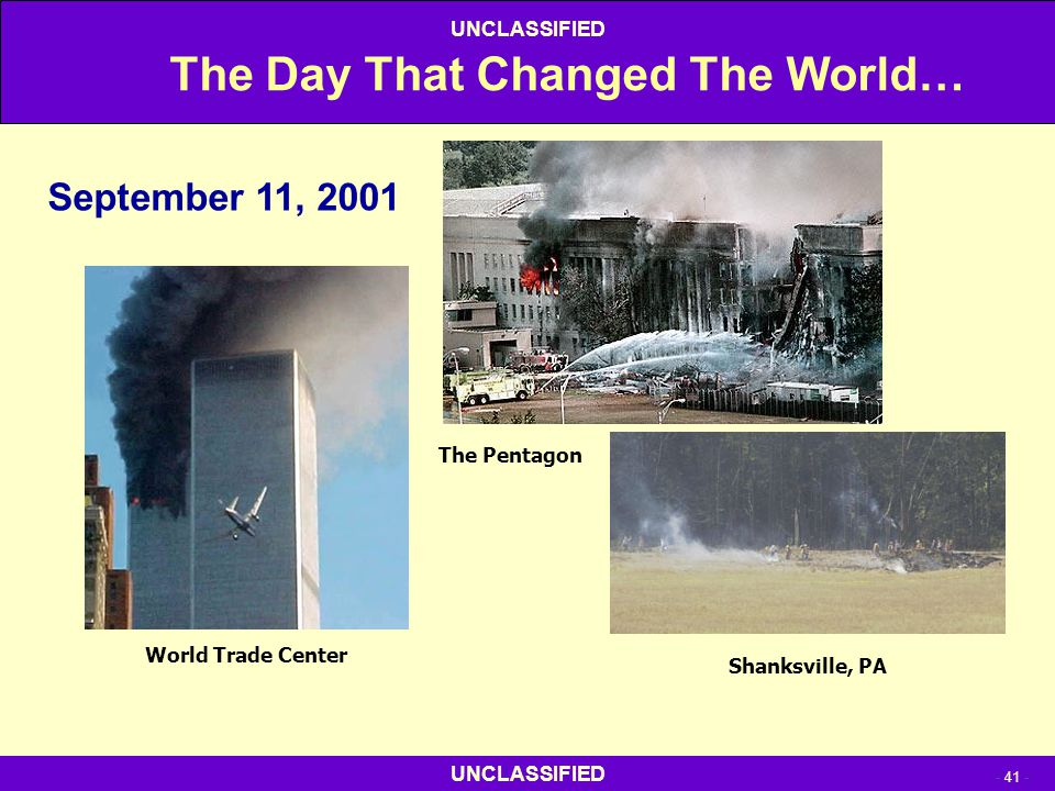 The Day That Changed The World…