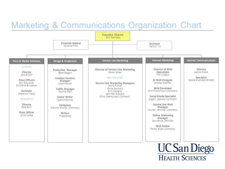 Create an org chart in PowerPoint using a template