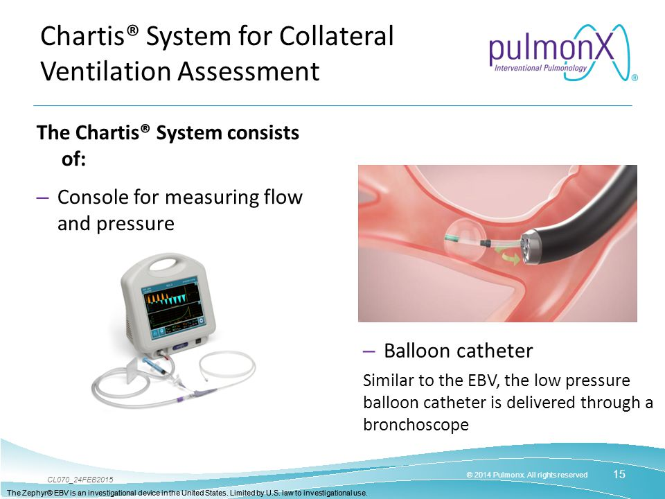 Chartis® System for Collateral Ventilation Assessment