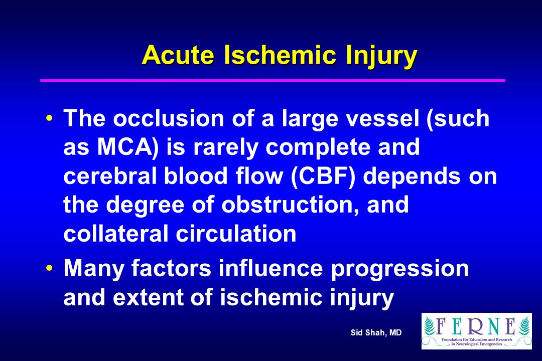 Acute Ischemic Injury