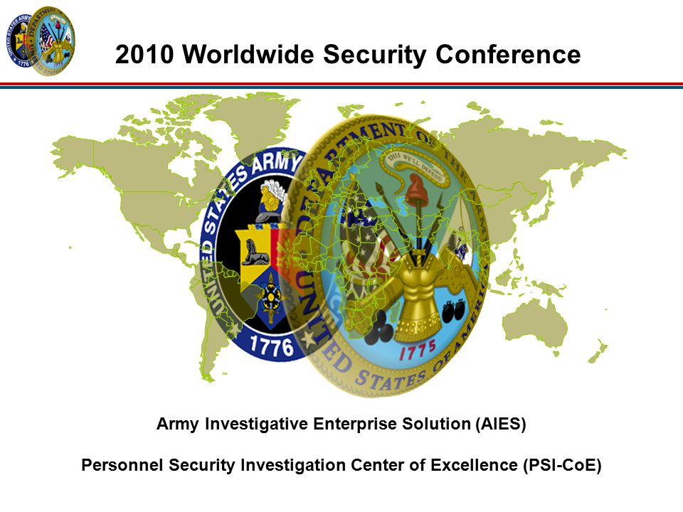 2010 Worldwide Security Conference