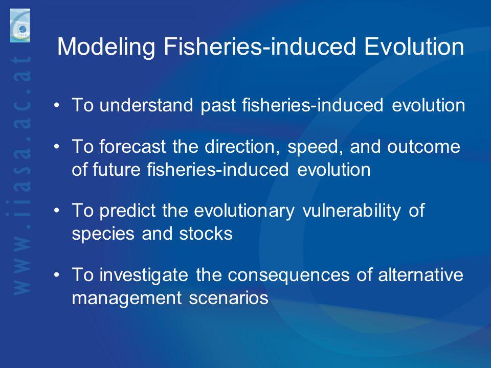 Modeling Fisheries-induced Evolution