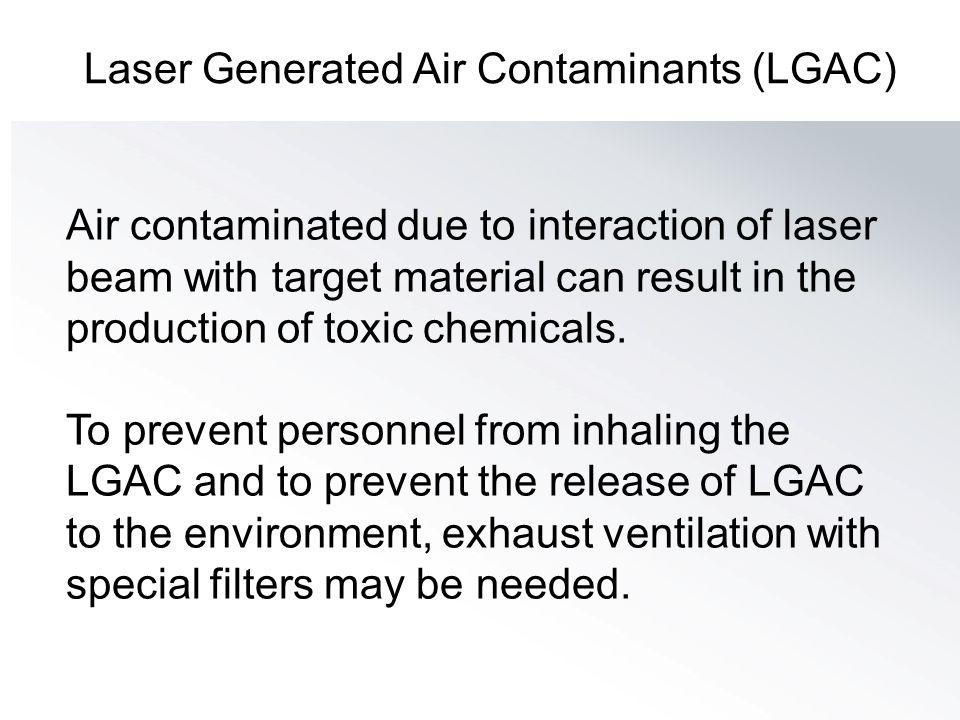 Laser Generated Air Contaminants (LGAC)