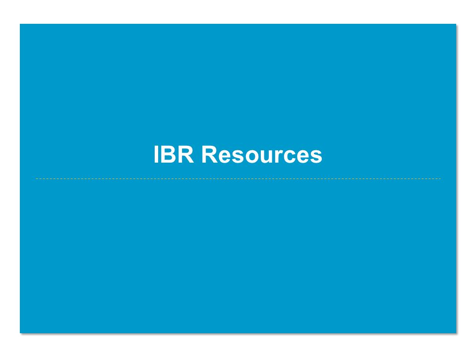 IBR Resources