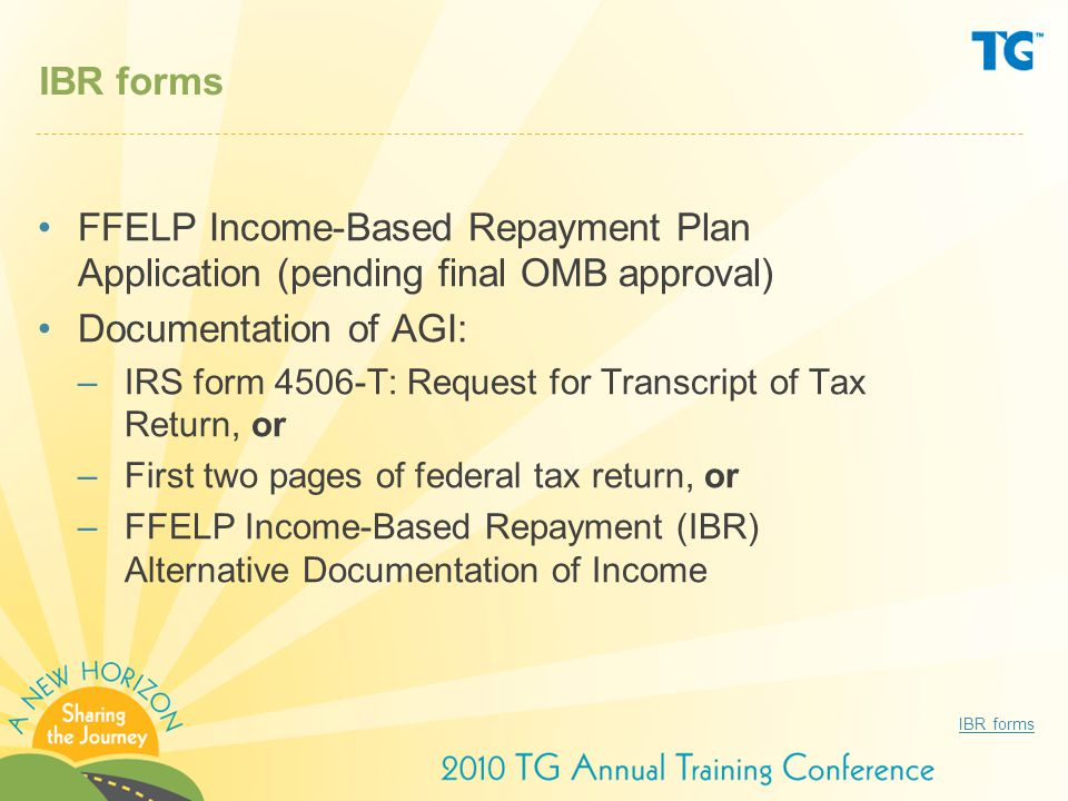 IncomeBased Repayment Ibr Basics  Ppt Download