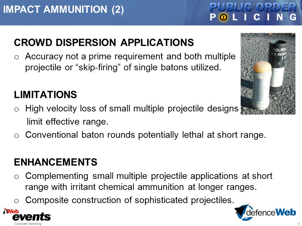 CROWD DISPERSION APPLICATIONS