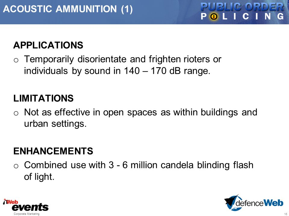 ACOUSTIC AMMUNITION (1)