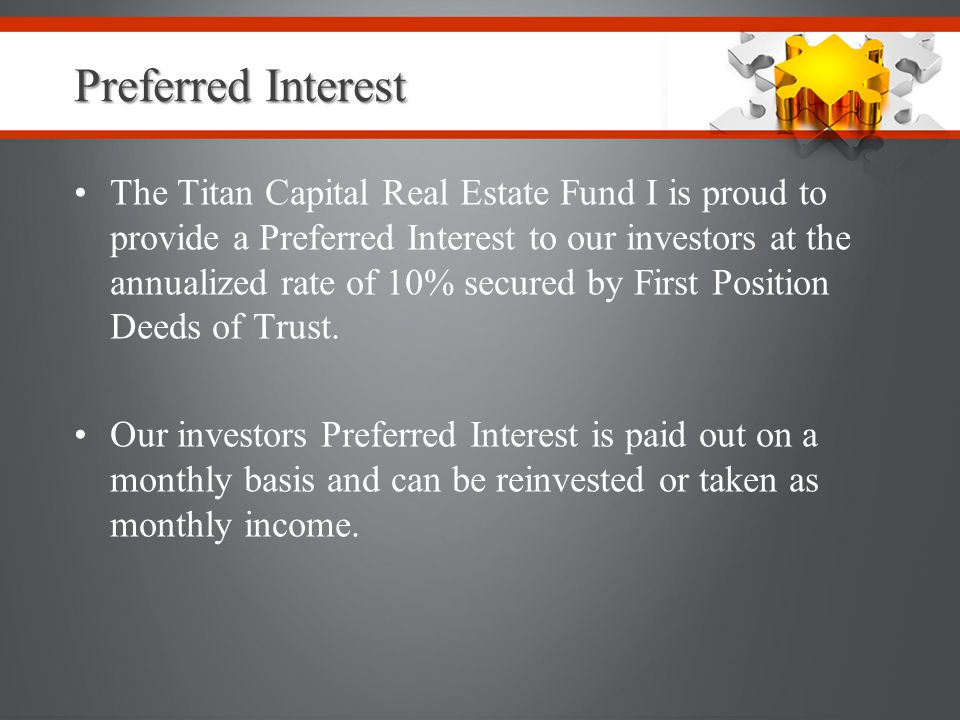 Preferred Interest