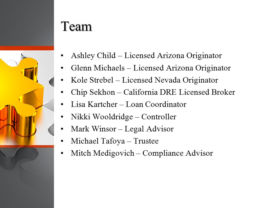 Team Ashley Child – Licensed Arizona Originator