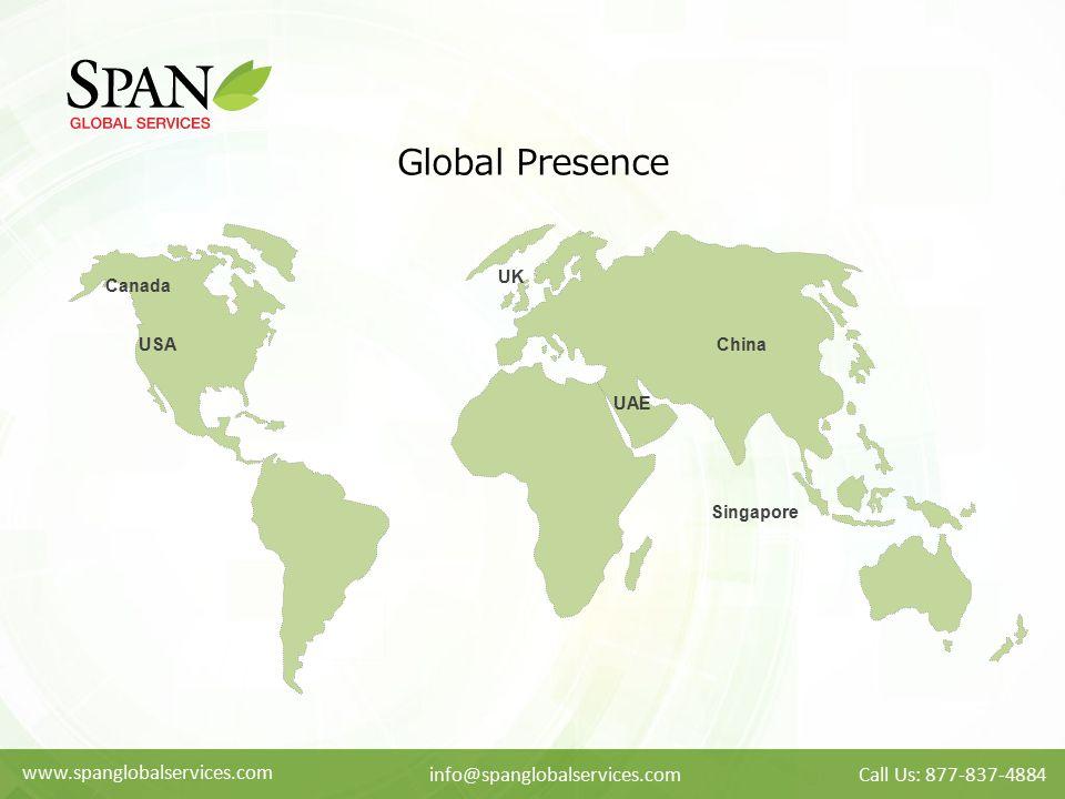 Global Presence www.spanglobalservices.com info@spanglobalservices.com
