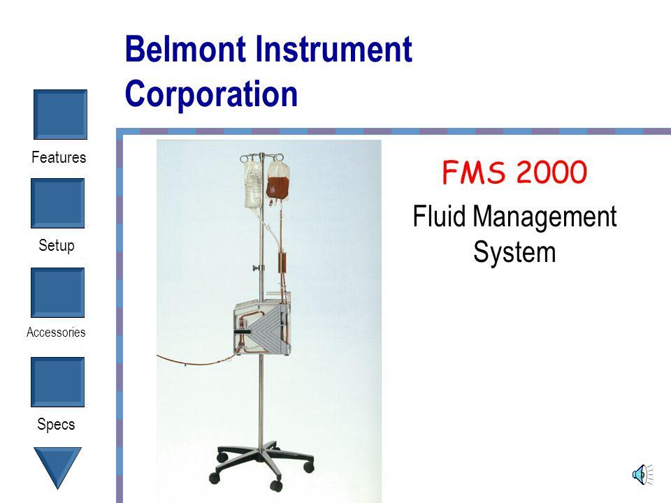 Belmont Instrument Corporation