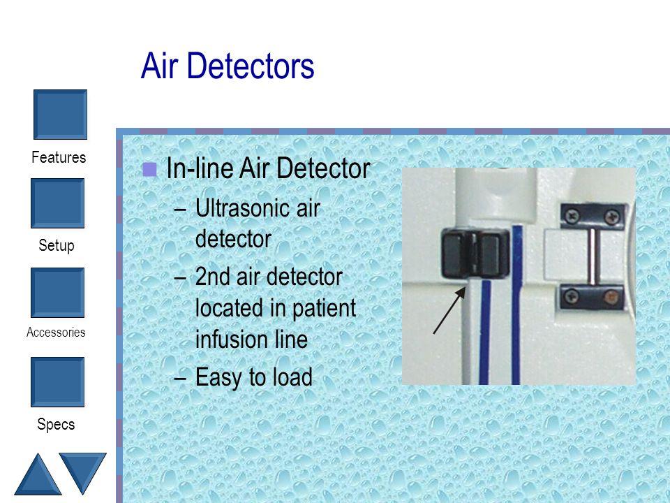Air Detectors In-line Air Detector Ultrasonic air detector