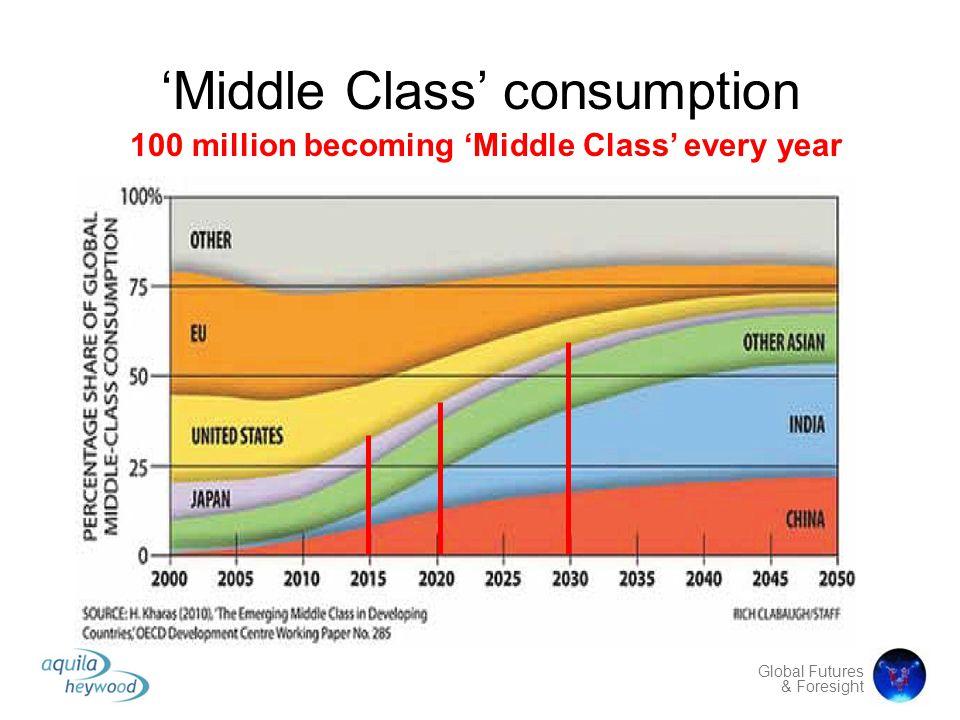 'Middle Class' consumption