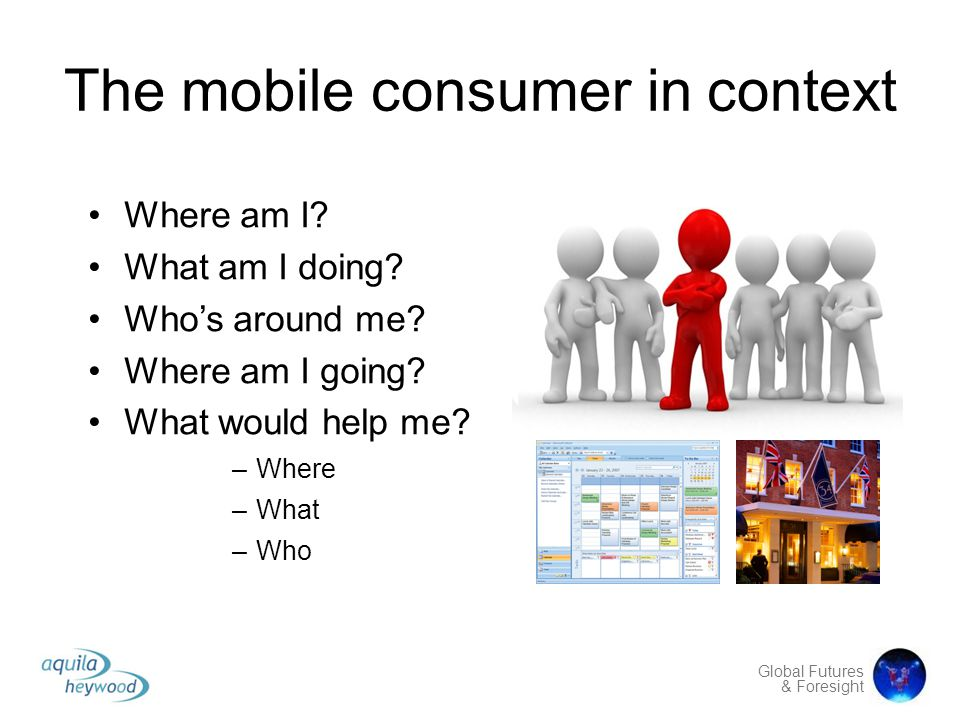 The mobile consumer in context
