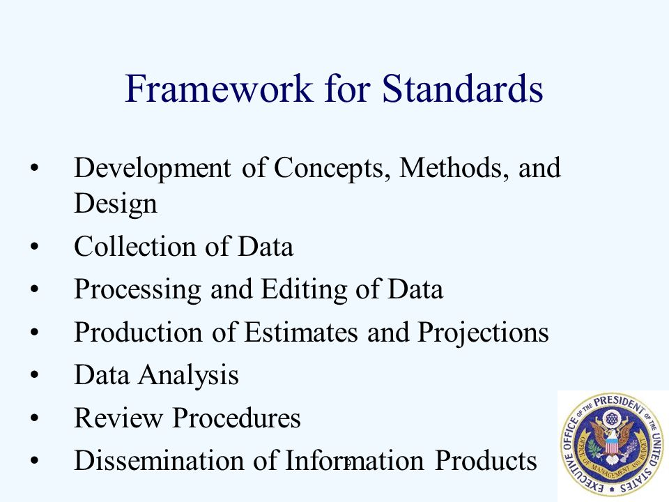 Framework for Standards