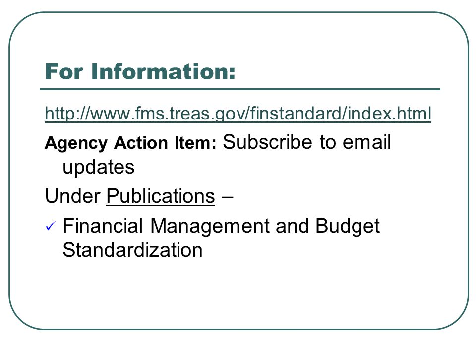 For Information: Under Publications –