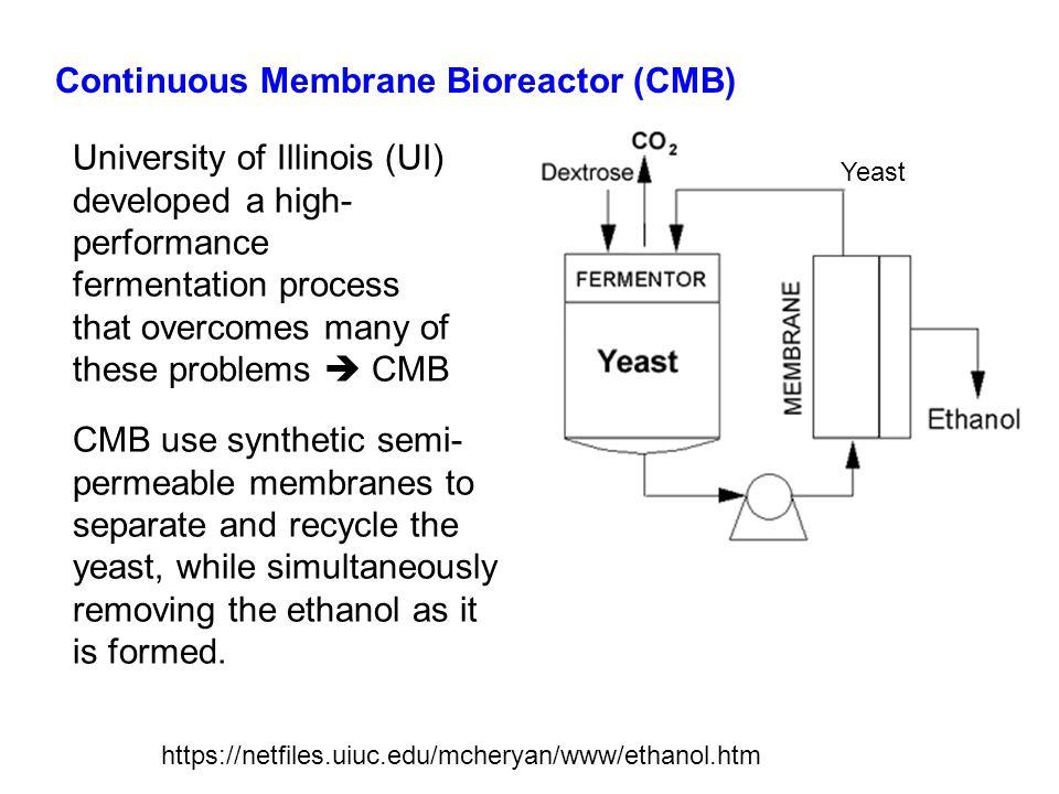 Continuous Membrane Bioreactor (CMB)