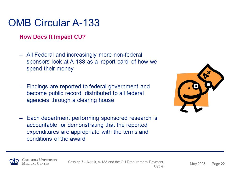 OMB Circular A-133 How Does It Impact CU