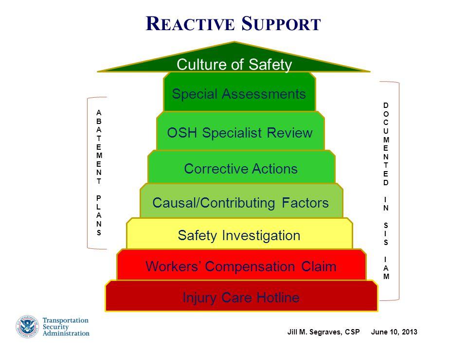 Proactive OSH Initiatives