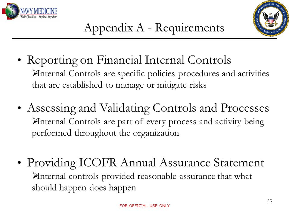 Appendix A - Requirements