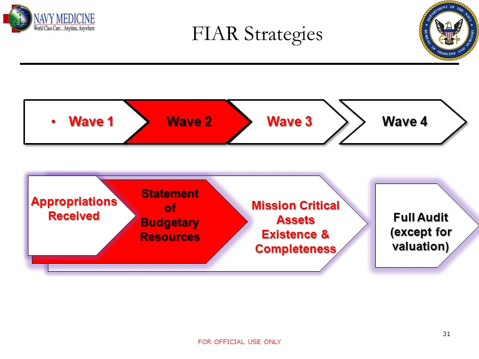 FIAR Strategies Wave 1 Wave 2 Wave 3 Wave 4
