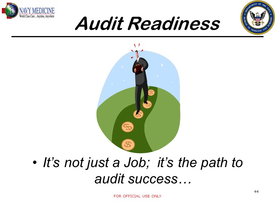 It's not just a Job; it's the path to audit success…
