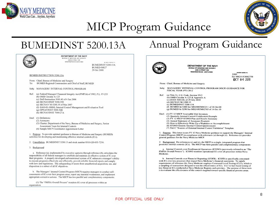 Annual Program Guidance