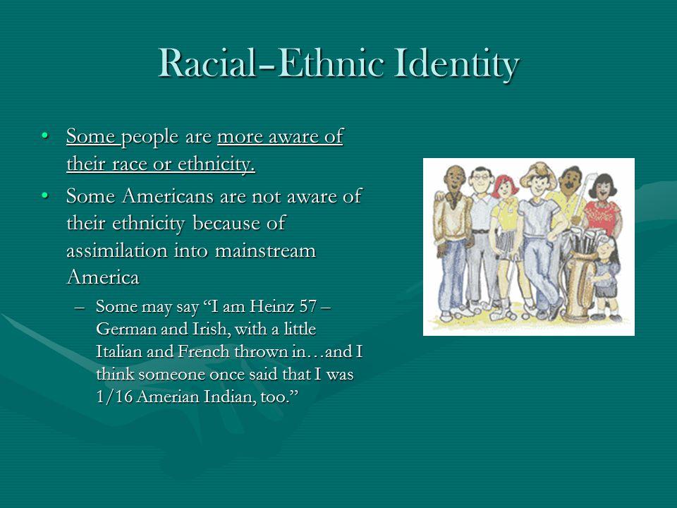 Racial–Ethnic Identity