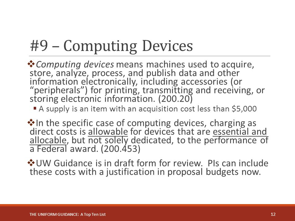 #9 – Computing Devices