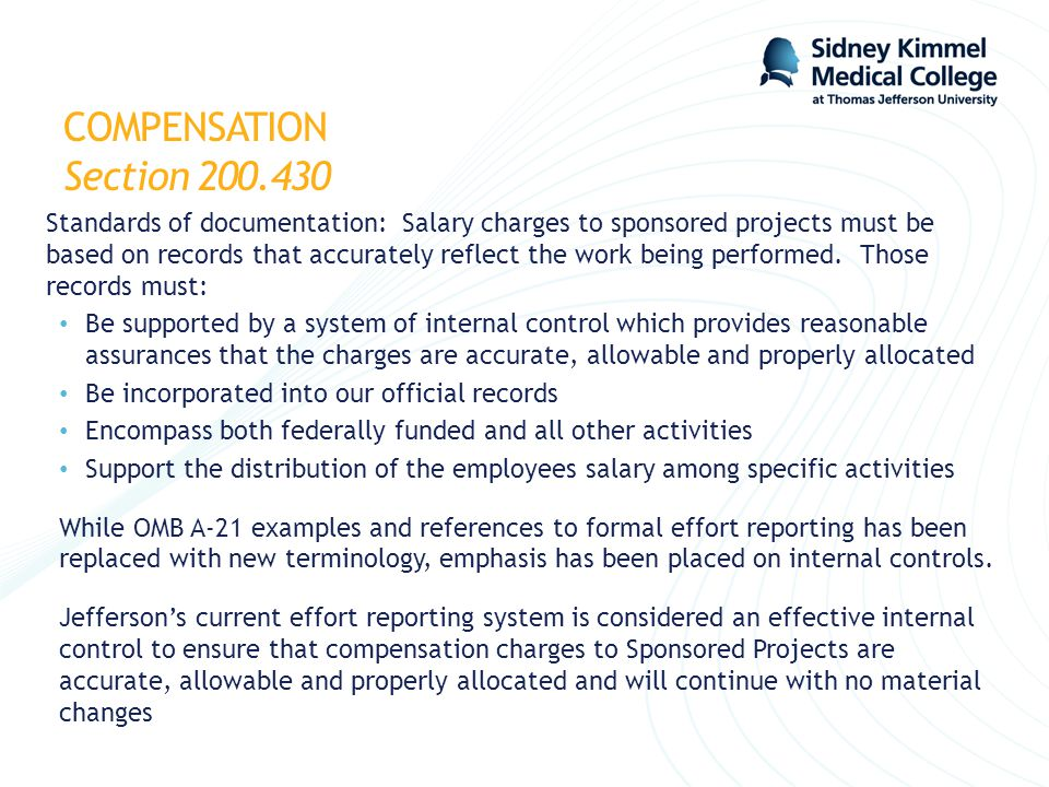 COMPENSATION Section 200.430