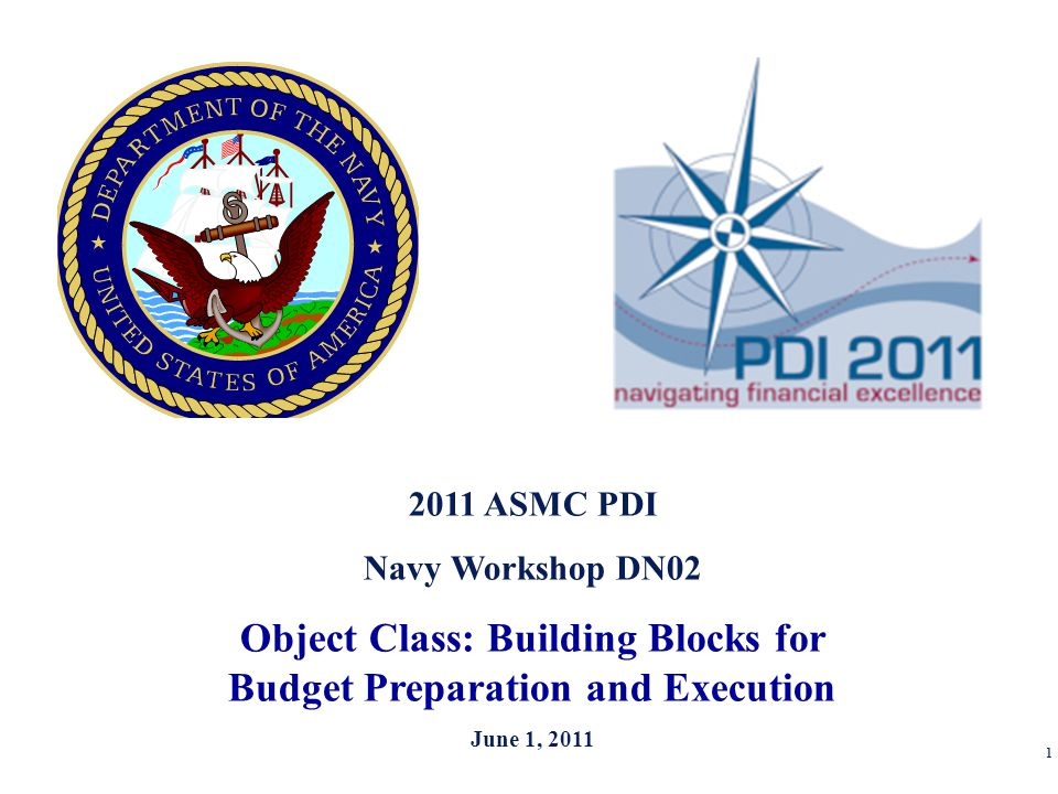 Object Class: Building Blocks for Budget Preparation and Execution