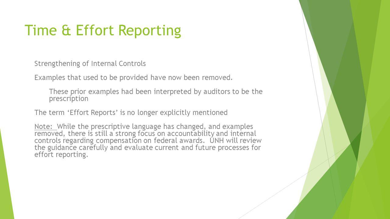 Time & Effort Reporting