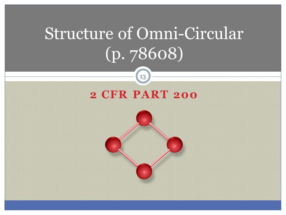 Structure of Omni-Circular (p. 78608)