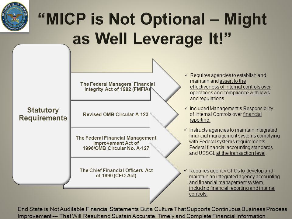 MICP is Not Optional – Might as Well Leverage It!