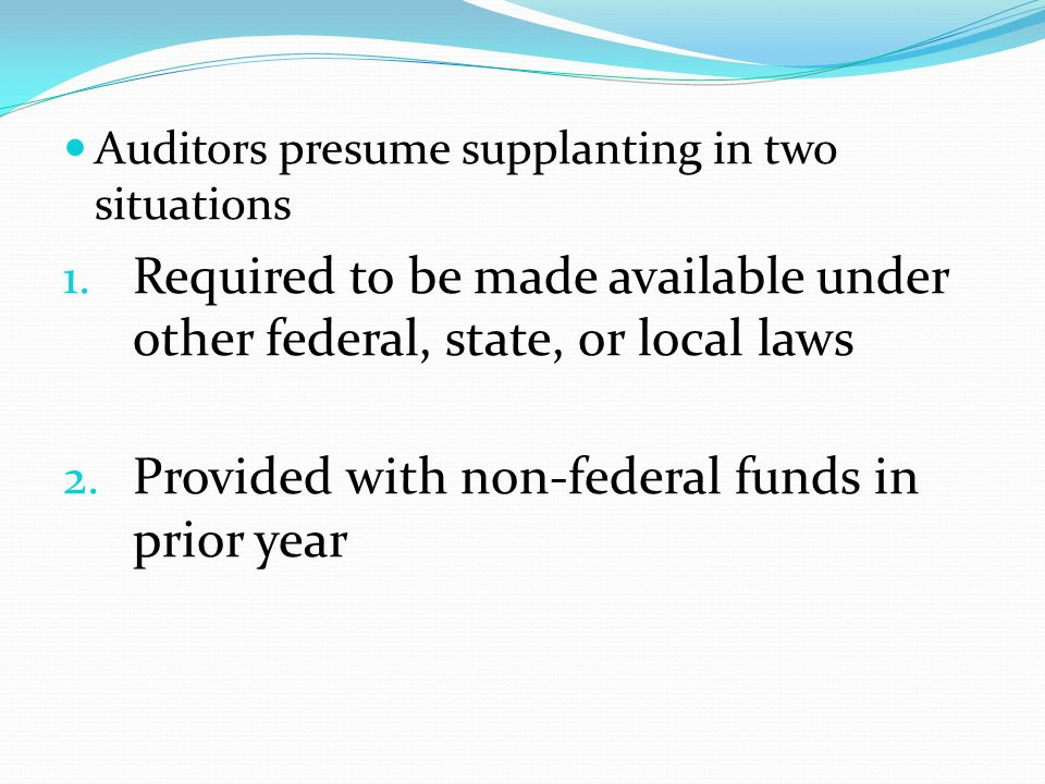 Provided with non-federal funds in prior year