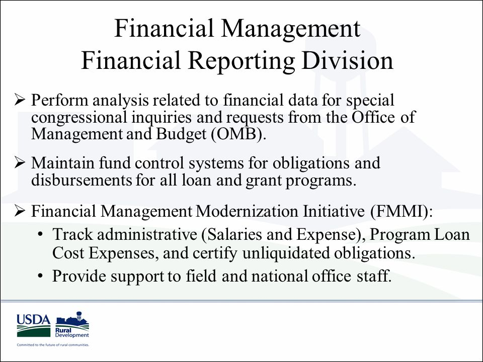 Financial Reporting Division