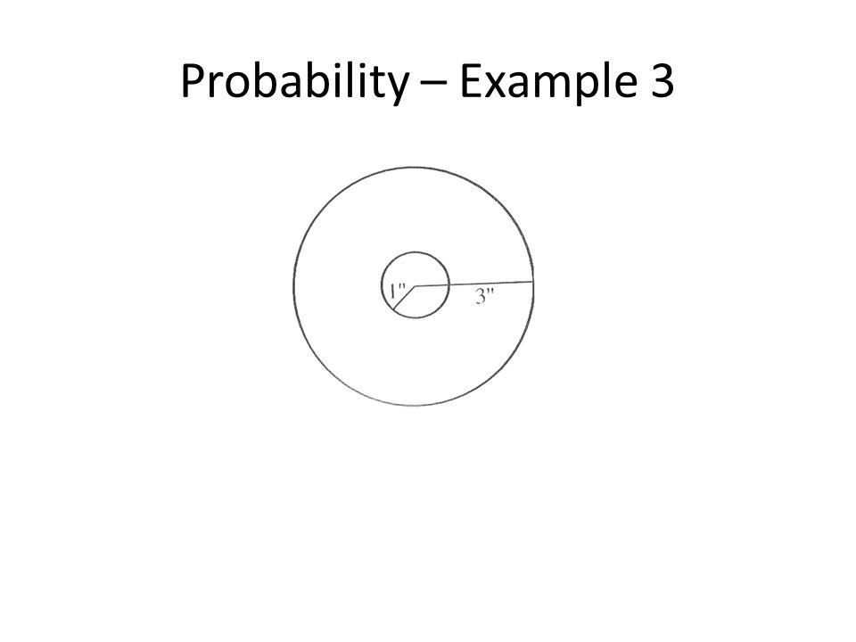 Probability – Example 3