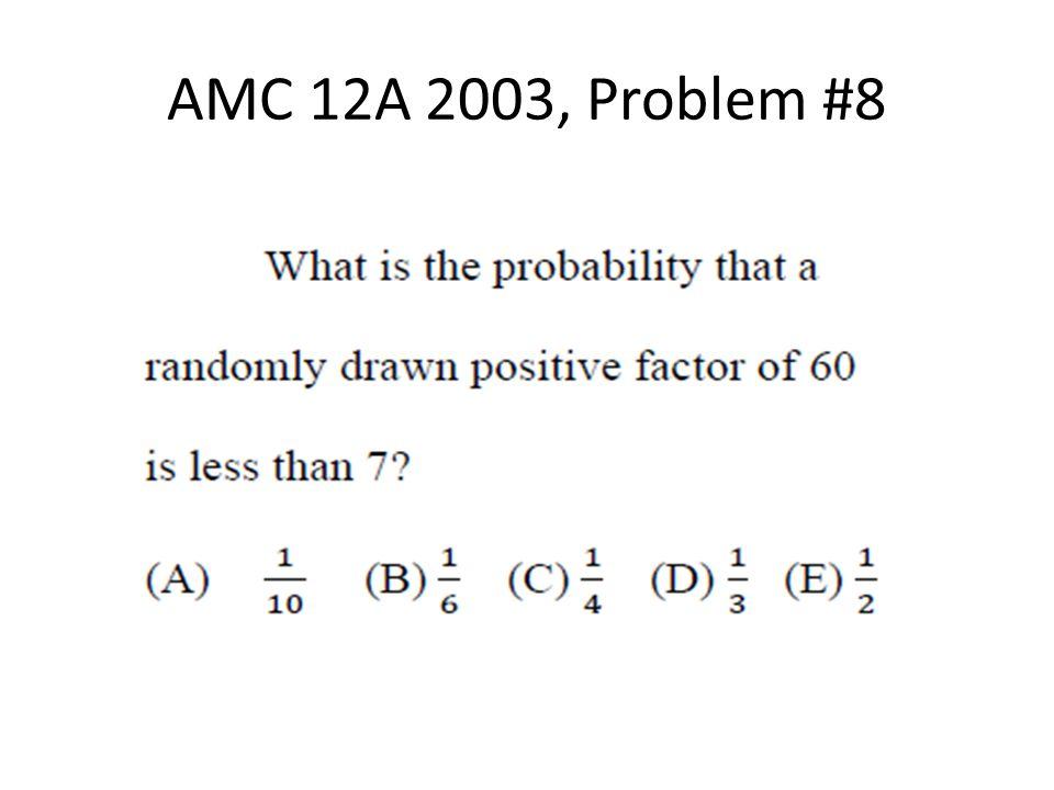 AMC 12A 2003, Problem #8