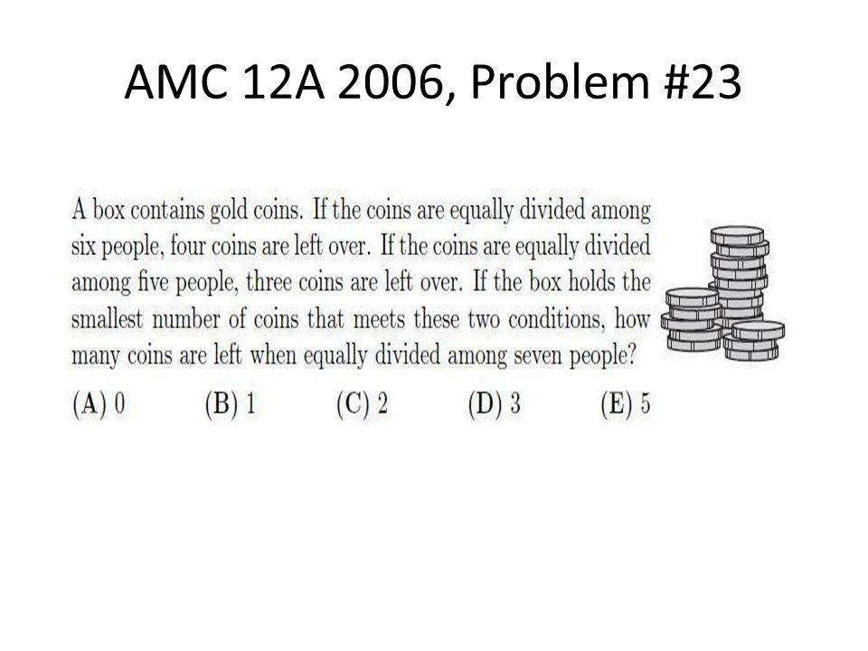 AMC 12A 2006, Problem #23