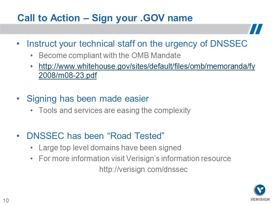 Call to Action – Sign your .GOV name