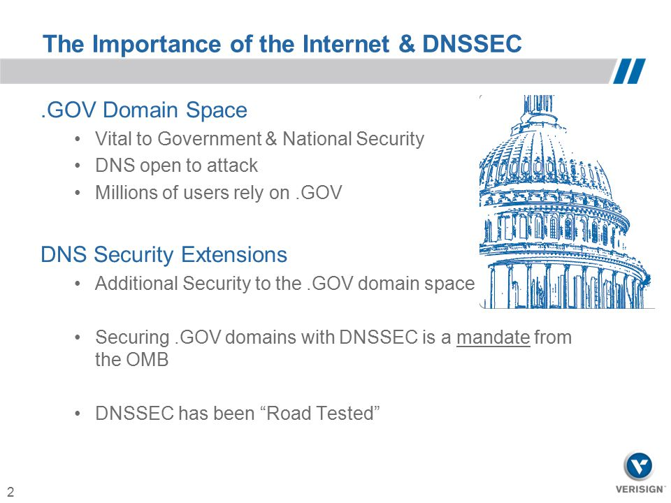 The Importance of the Internet & DNSSEC