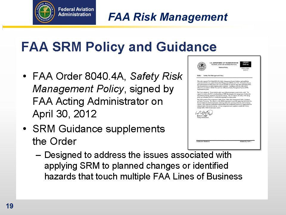 FAA Risk Management