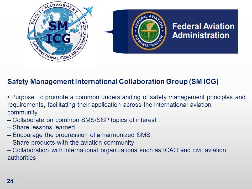 Safety Management International Collaboration Group (SM ICG)