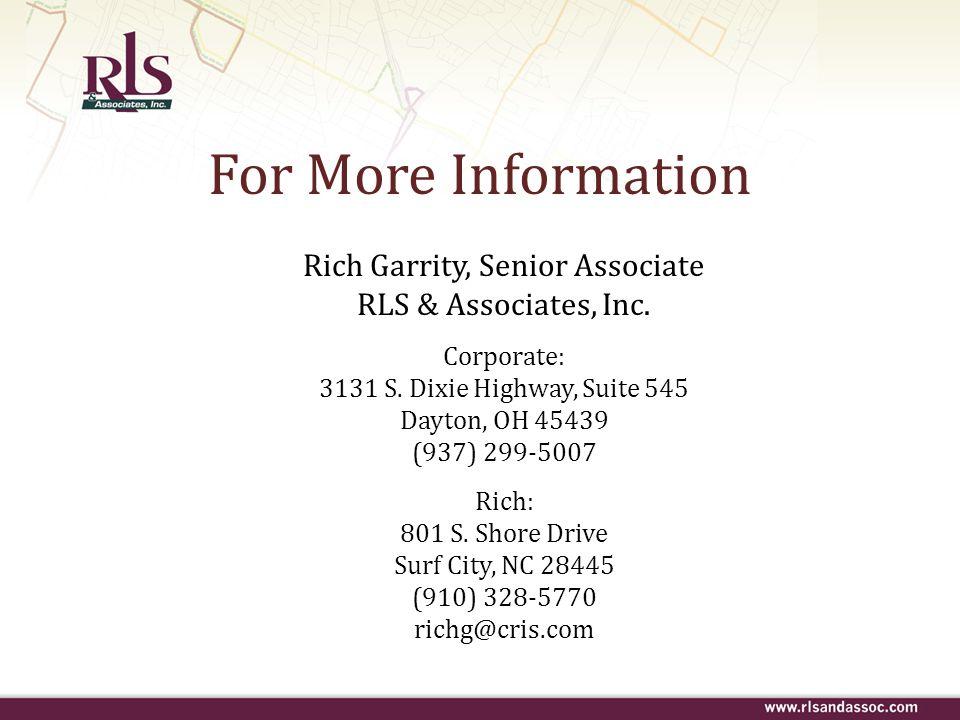 Rich Garrity, Senior Associate
